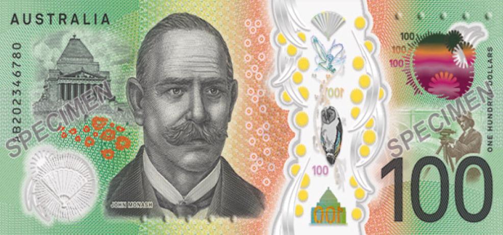 Nellie MELBA donne de la voix sur le nouveau billet australien de 100 AUD !