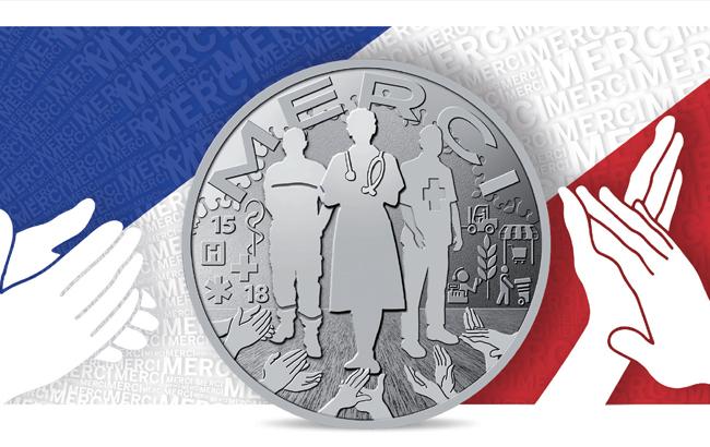 La Monnaie de Paris frappe une médaille pour dire «Merci» aux Soignants et toutes les personnes qui travaillent durant cette crise