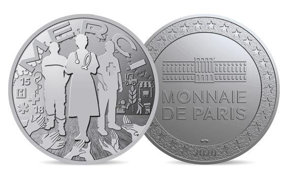 Marc SCHWARTZ – PDG de la Monnaie de Paris – Médaille des soignants