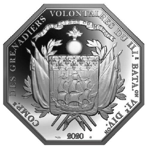 Pièce Marquis de La Fayette, indépendance des Etats-Unis 2020