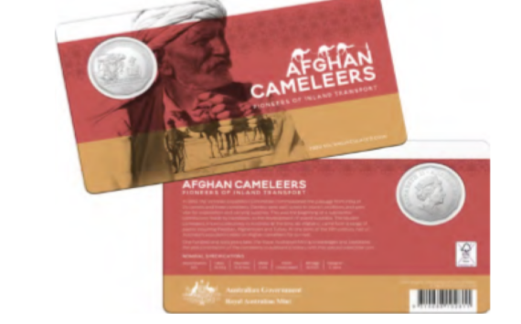 Australian Mint celebrates afghans cameleers