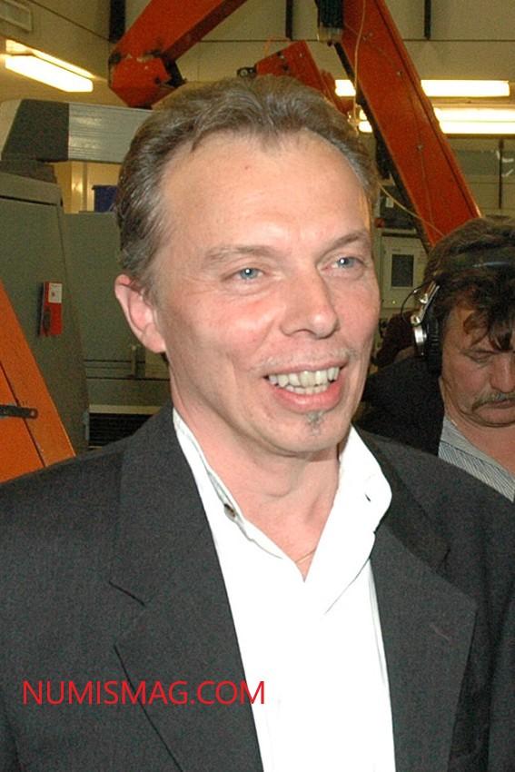LUC LUYCX, graveur monétaire et père de l'euro