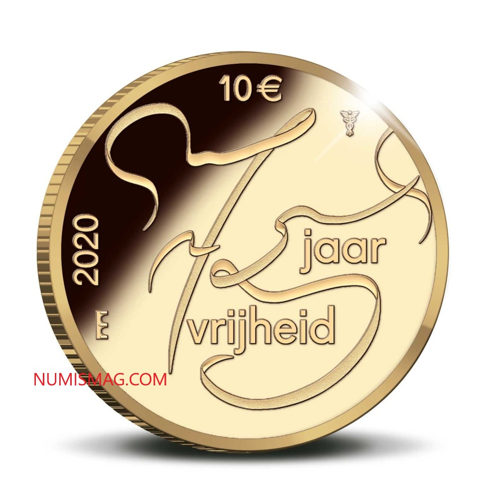 Netherlands celebrate 75 years of Peace and Freedom with several coins