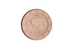 La monnaie Estonienne a émis de nombreuses pièces de 1 et 2 cents en 2020