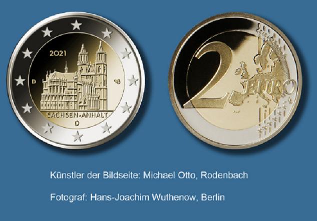 Programme numismatique de l'Allemagne 2021