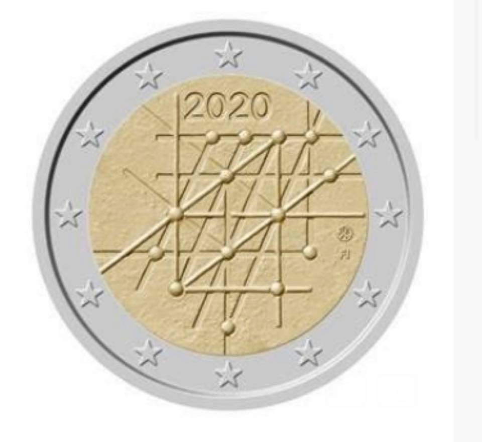 Programme numismatique 2020 de la Finlande