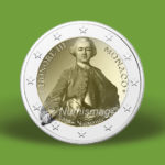 2020 €2 commemorative coin from MONACO - Prince HONORE III