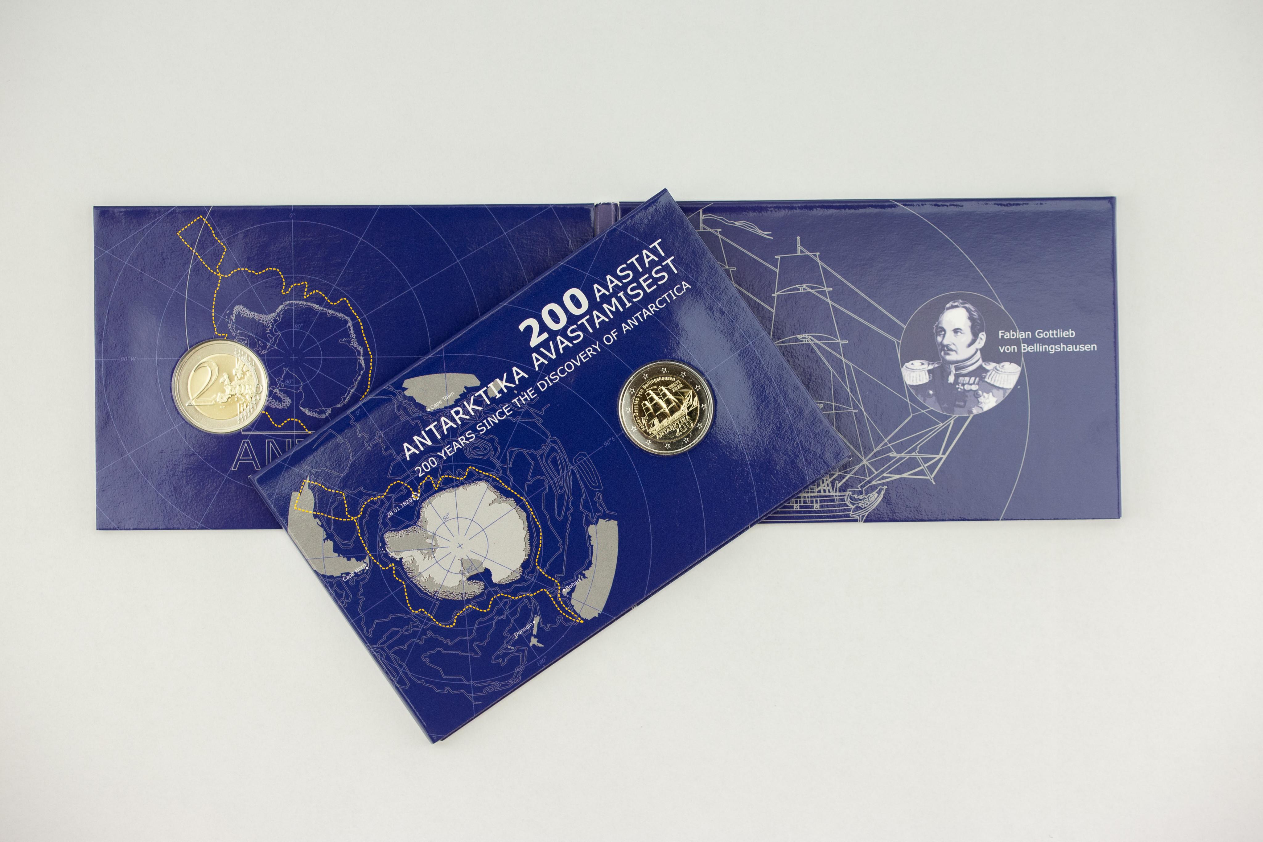 Programme numismatique de l'Estonie 2020
