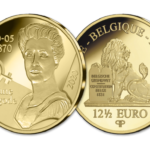 2020 12,5€ gold commemorative coin from Belgium - Jane Brigode