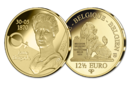 2020 12,5€ gold commemorative coin from Belgium – Jane Brigode