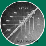 €20 coin from Lithuania celebrating 2021 Olympics
