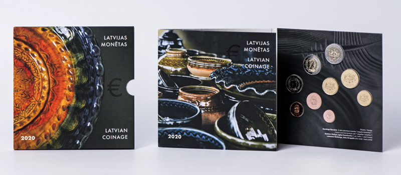 Latvian 2020 €2 euro commemorative coin and coin set