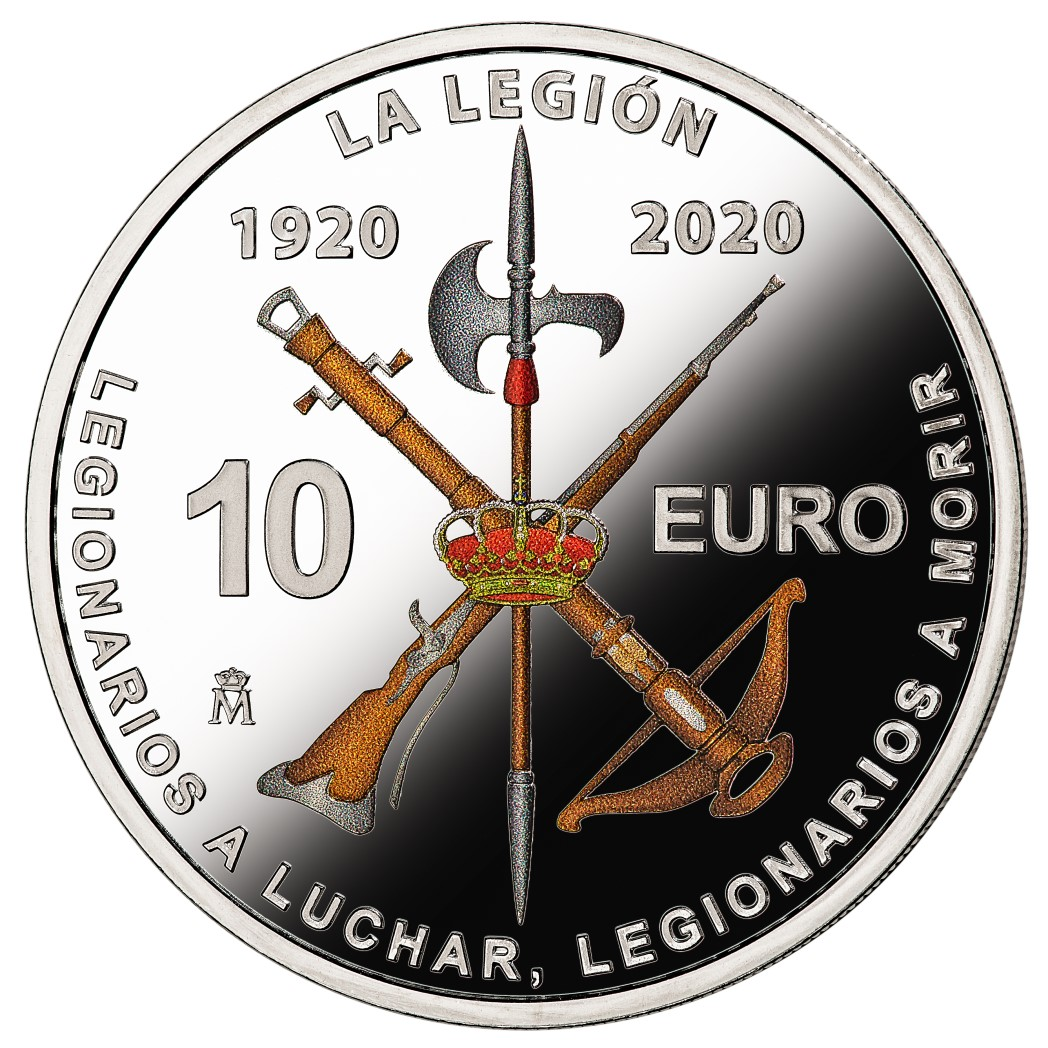 """L'Espagne célèbre le 100eme anniversaire des """"TERCIOS"""" en 2020"""