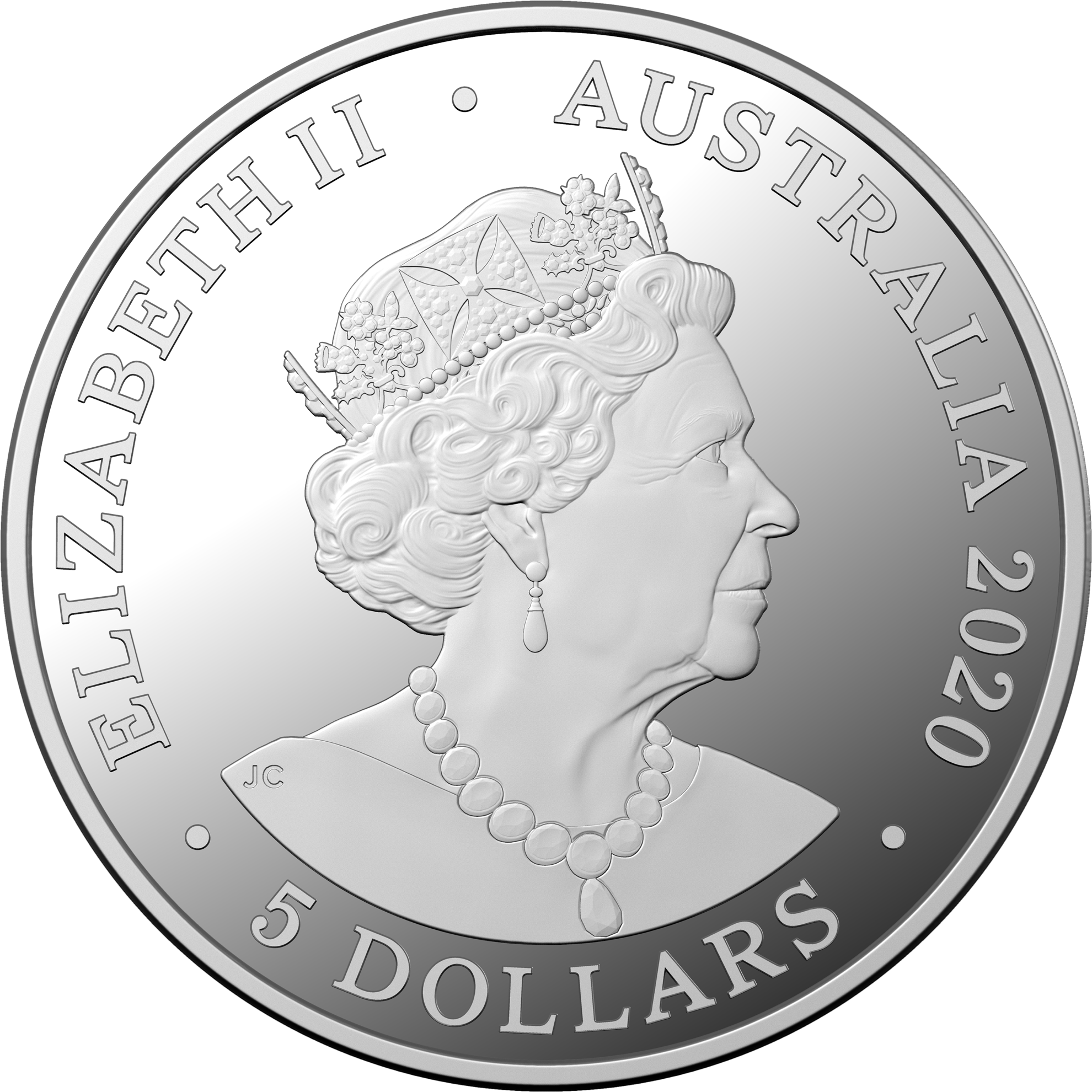 Australia celebrates end of second world war with a 5 AUD silver coin