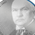 2021 estonian Friedrich Karl Akel €15 commemorative coin