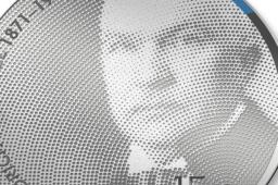 2021 estonian Friedrich Karl Akel €15 commemorative coin