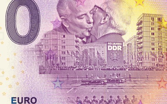 L'album de billets zero euro de MDM – 30 ans de la Réunification allemande