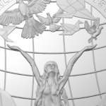 L'Australie célèbre la fin de la seconde guerre mondiale avec une pièce en argent