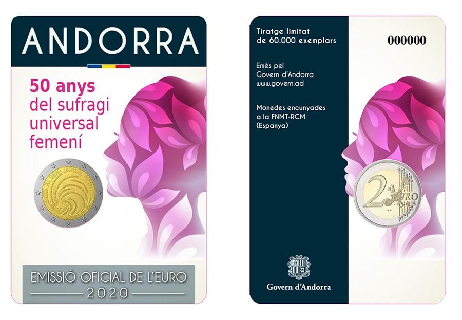 2020 Andorra numismatic program