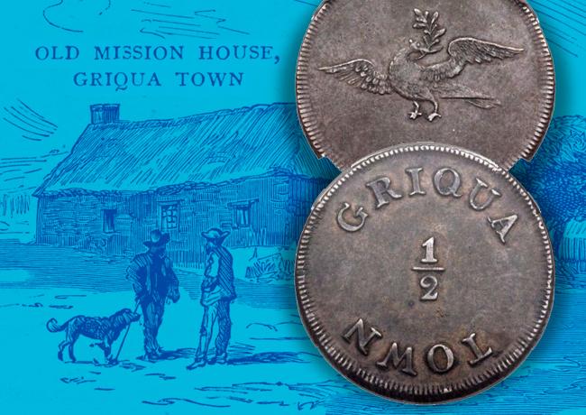 Les premières pièces de Monnaie de l'Afrique du Sud