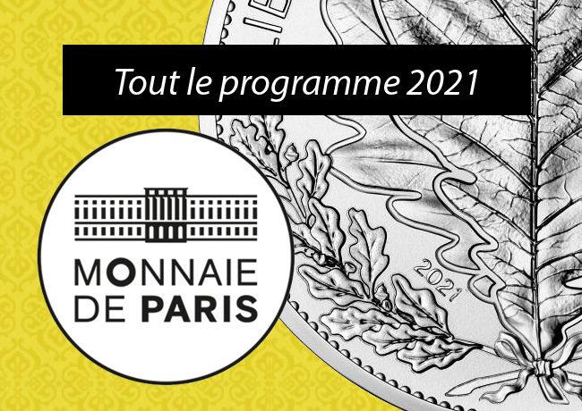 Le programme monétaire 2021 de la Monnaie de Paris
