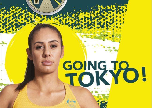 L'Australian Royal Mint célèbre son équipe olympique en 2020