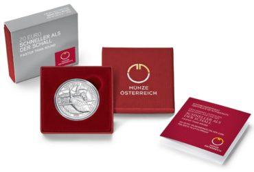 La monnaie autrichienne vole plus vite que le son – pièce dédiée Concorde/ Bell X1