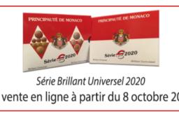Annonce officielle du coffret BU annuel 2020 de MONACO