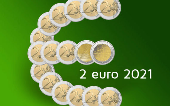 2 euro commémorative 2021