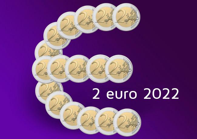 2 euro commémorative 2022
