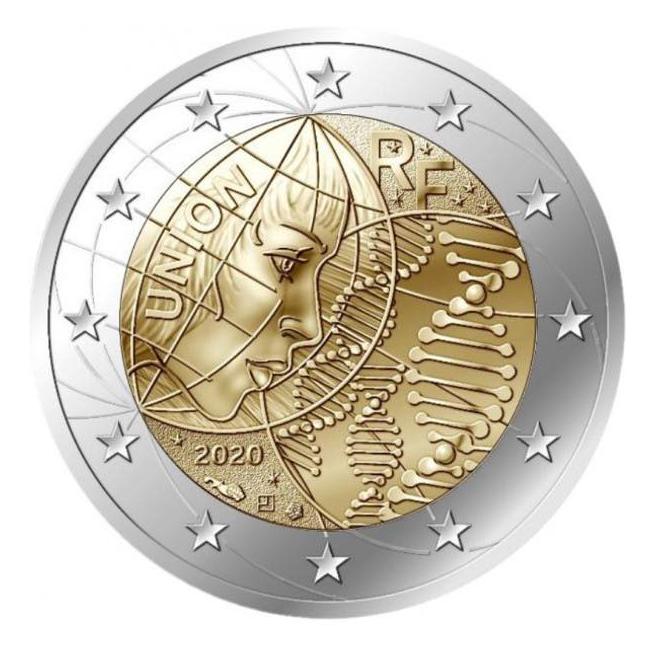 2 euros commémorative 2020 dédiée à la Recherche médicale - Monnaie de Paris