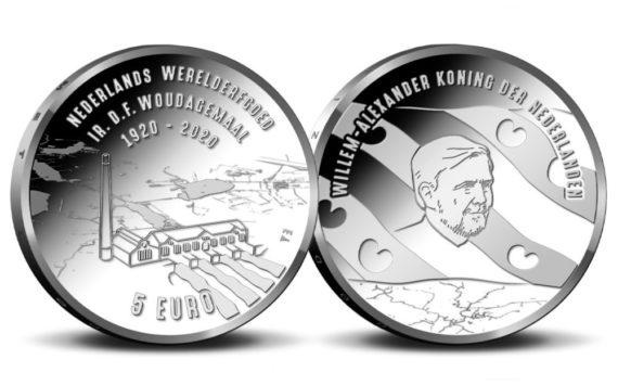 2020 Woudagemaal €5 Coin