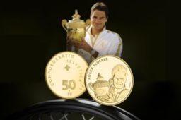 Dernières émissions numismatiques 2020 de la Suisse – De l'or pour R. FEDERER