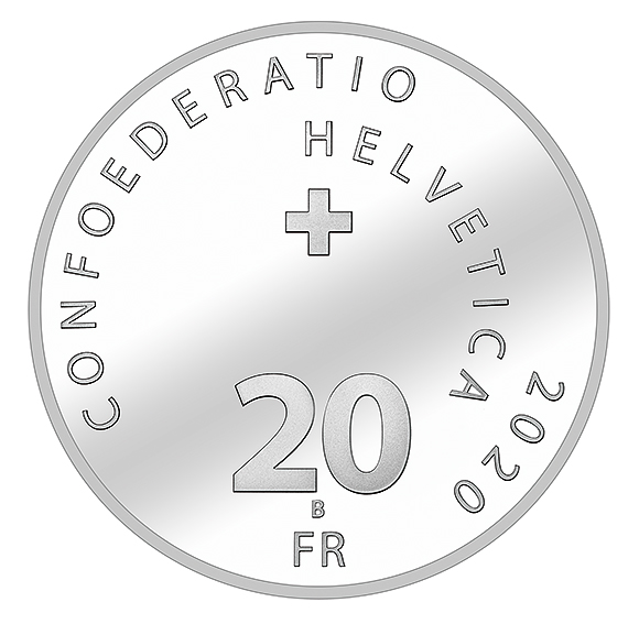 2020 last swiss numismatic issues - Gold for R. FEDERER