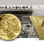 LES 75 ANS DE LA VICTOIRE - 8 mai 1945 - collection Grandes dates de l'Histoire de l'Humanité 2020