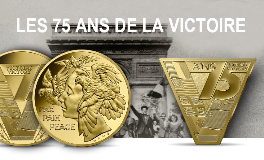 LES 75 ANS DE LA VICTOIRE – 8 mai 1945 – collection Grandes dates de l'Histoire de l'Humanité 2020