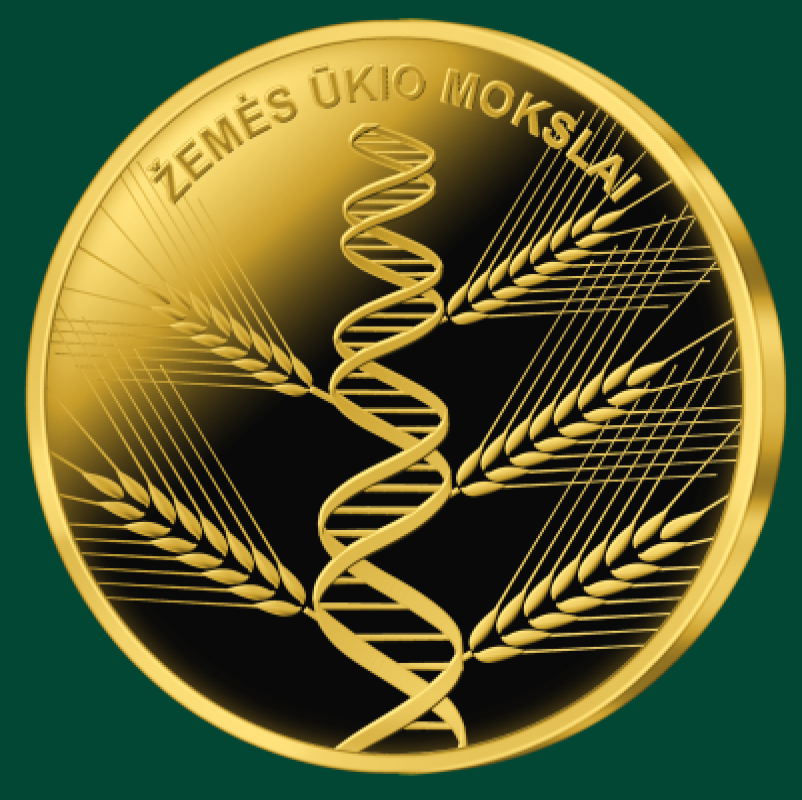 2020 lithuanian €5 coin celebrating Agriculture and dedicated science processes