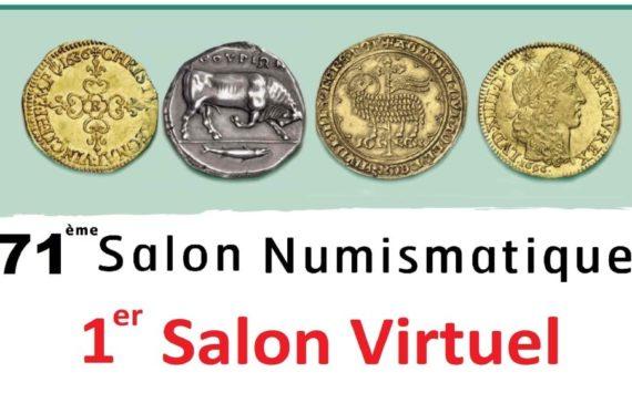 En 2020, le salon numismatique du Palais BRONGNIART se digitalise