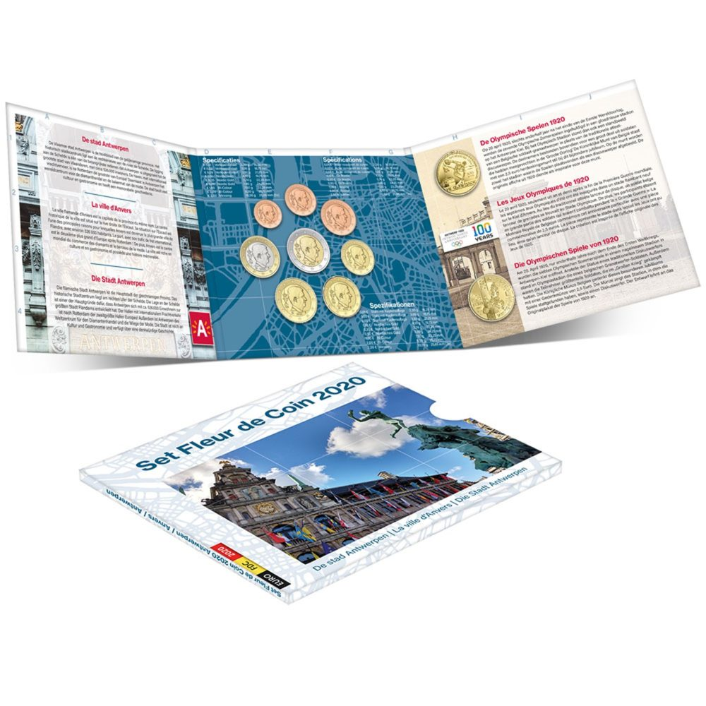 2020 numismatic program of Belgium - World Money Fair