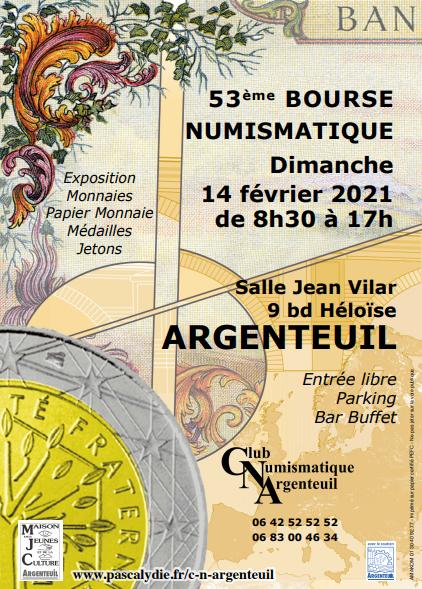 """Pascal HELLENBRAND - """"Bourse d'Argenteuil 2021: le CNA est prêt!"""""""