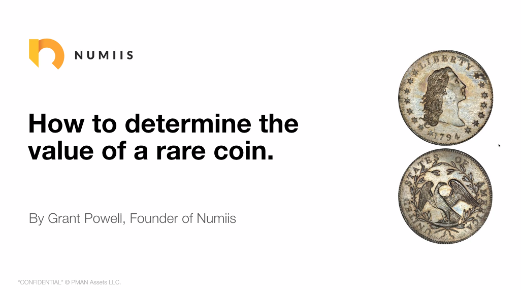 Expert's word: GRANT POWELL - NUMIIS, modern tools for coins valuation