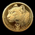 Un léopard d'une once d'or 24 carats pour l'Afrique du Sud