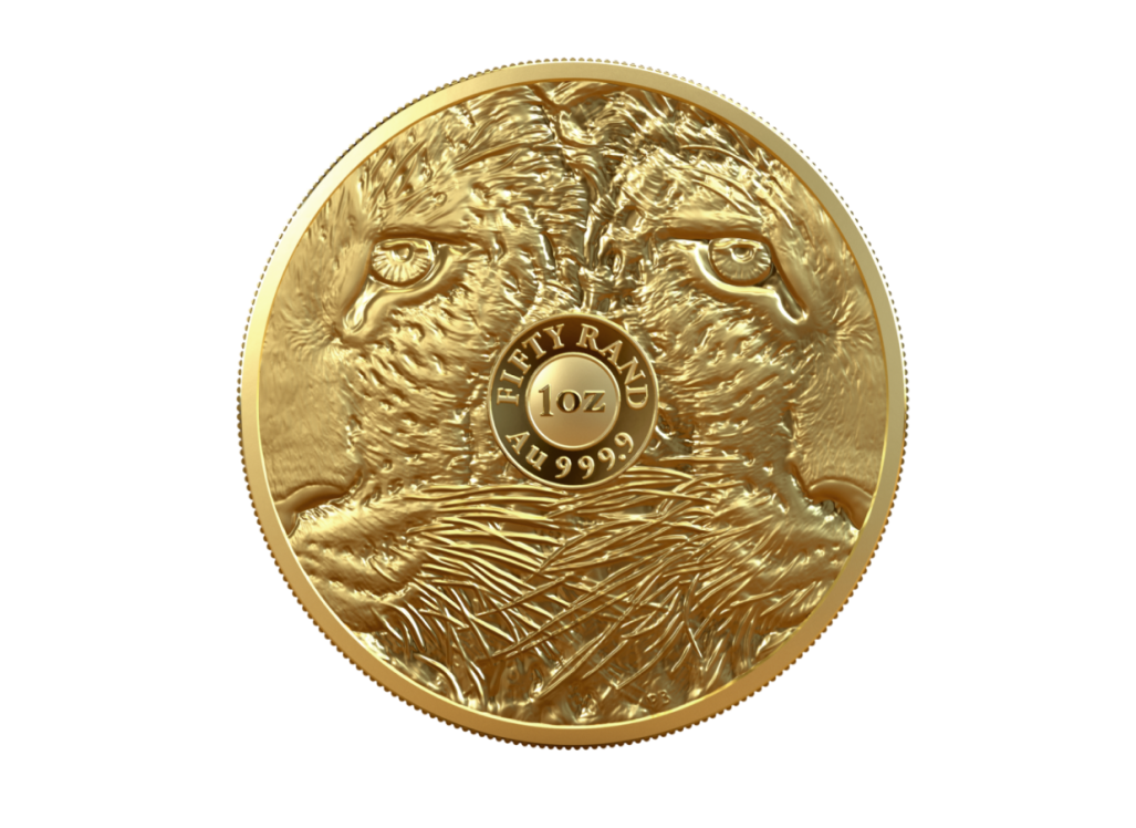 A 1oz gold leopard for South Africa