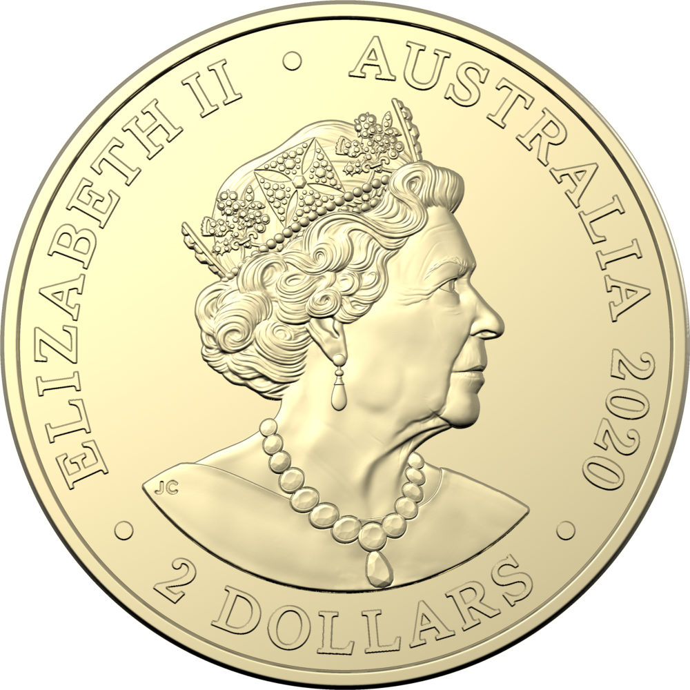 Royal Australian Mint honores firefighters with a AUD 2 colored coin