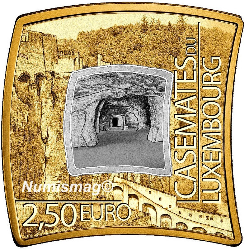 2021 numismatic program of Luxemburg