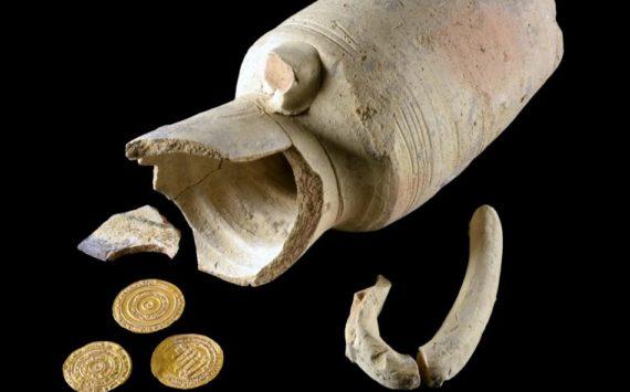 Trésor de Jérusalem: 4 pièces d'or millénaires découvertes dans une jarre