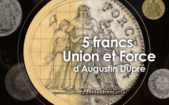 La pièce de 5 francs Union et Force 1796 – première monnaie en argent du Franc décimal