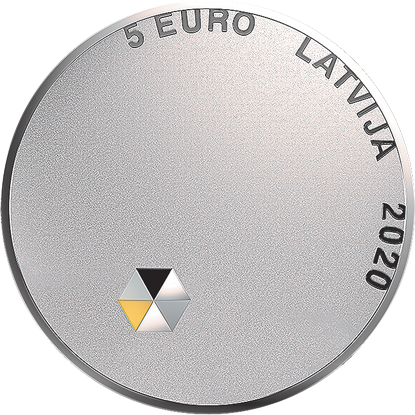 5€ de Lettonie 2020 célébrant la liberté personnelle