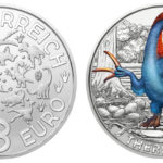€3 Therizinosaurus cheloniformis from Austrian Mint