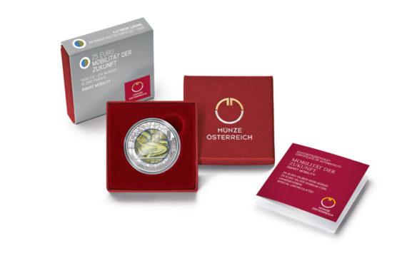 2021 Austrian numismatic program